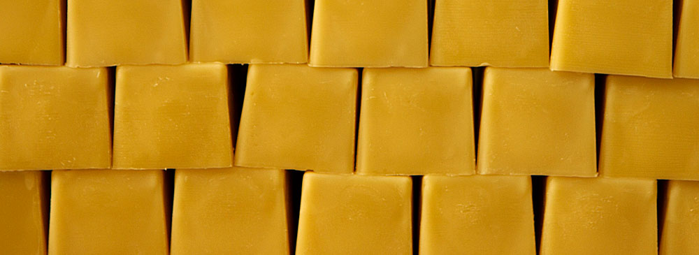 blocks of beeswax