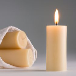 organic beeswax candles votives