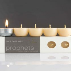tea lights pure organic beeswax candles
