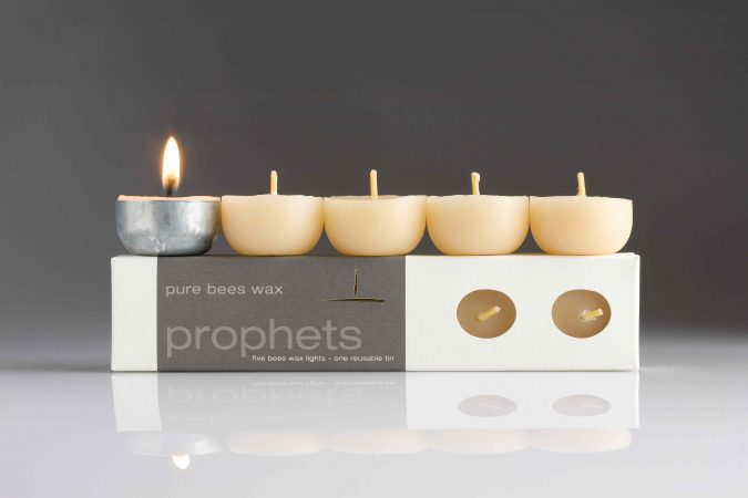 tea lights pure organic beeswax candles