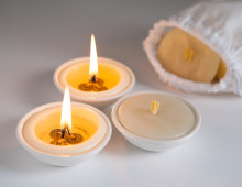 beeswax candles calmer lights