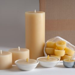 beeswax candles giftset lightbox