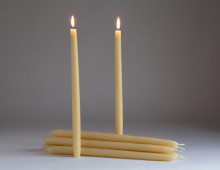 beeswax dinner candles